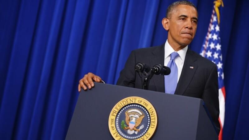 El presidente de Estados Unidos Barack Obama jueves 16 enero 2014