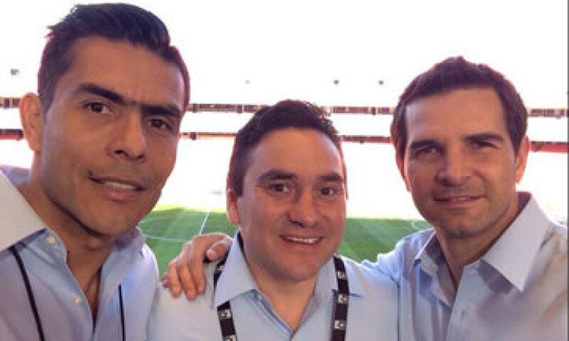 Sánchez, Pietrasanta y Davino son la apuesta actual de Televisa en los partidos del Tricolor. (Foto: Tomada de @J_Pietra  )