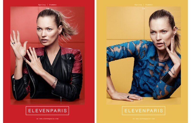 Kate Moss y una ponytail: fórmula perfecta.