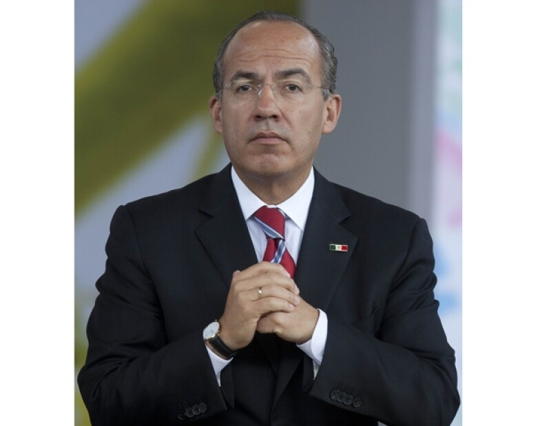 Felipe Calderón se dijo orgulloso de Bichir y Lubezki.