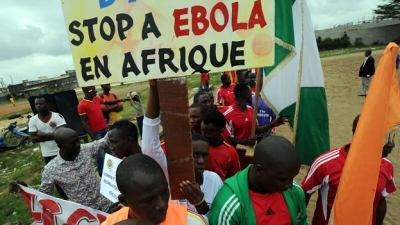 Africa afectada pro el ébola