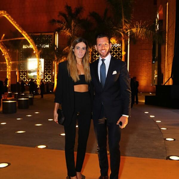 Andrea Wade y Luis Miguel Moreno