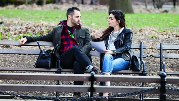 Aunque reservada, la actriz habló un poco de Mario Carbone, el chef neoyorquino que conquistó su corazón.
