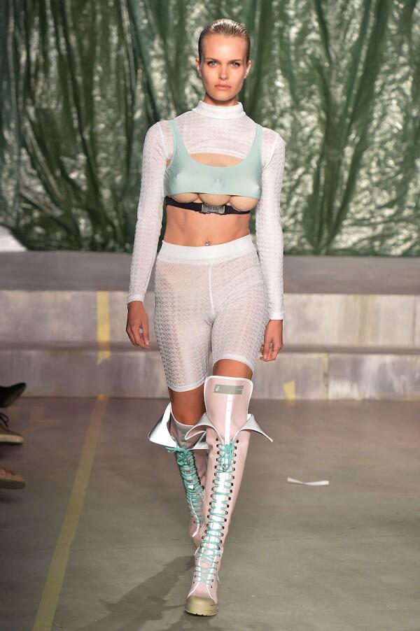 GCDS show, Runway, Spring Summer 2019, Milan Fashion Week, Italy - 22 Sep 2018
