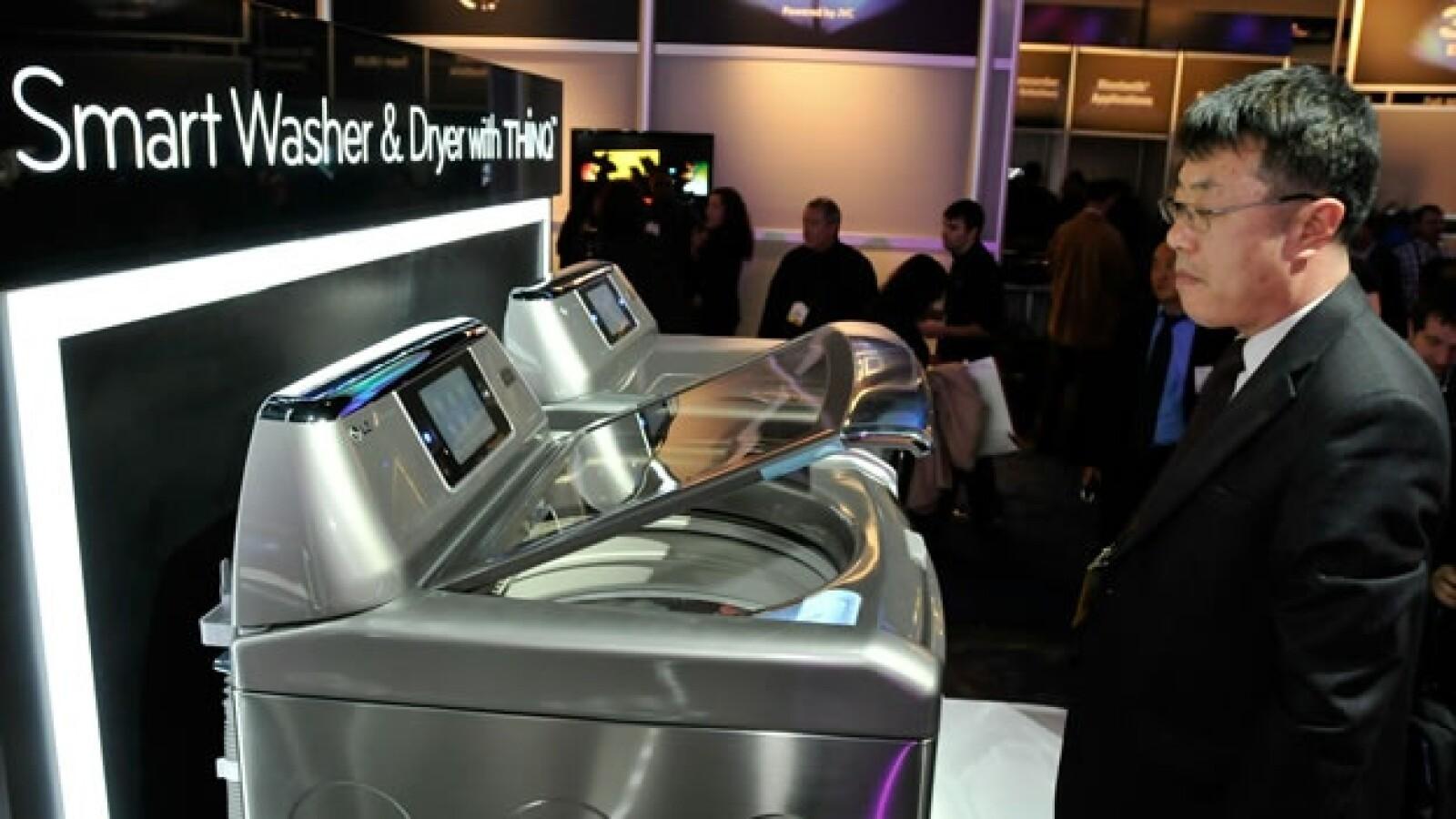 Vegas CES lavadora secadora inteligente