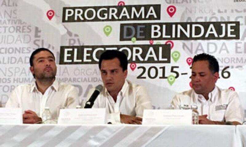 El comité de blindaje electoral ya está presente en todas las entidades donde se llevarán acabo elecciones este 5 de junio. (Foto: Sedesol/Cortesía)