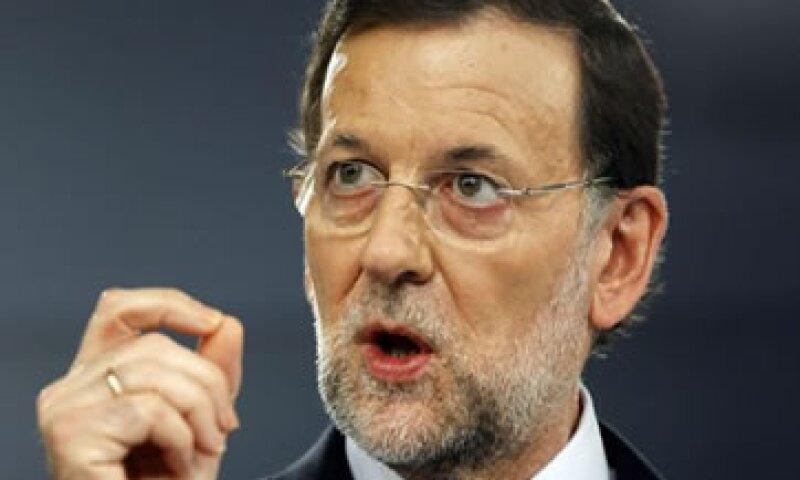 Mariano Rajoy, presidente de España, defendió las reformas laborales y finaniceras que aprobó su Gobierno.  (Foto: Reuters)