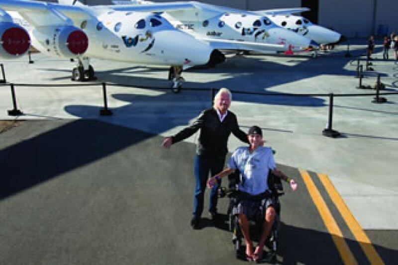 Richard Branson: empresario de turismo espacial y buscador de globos azules (Foto: Mark Greenberg (Image.net))