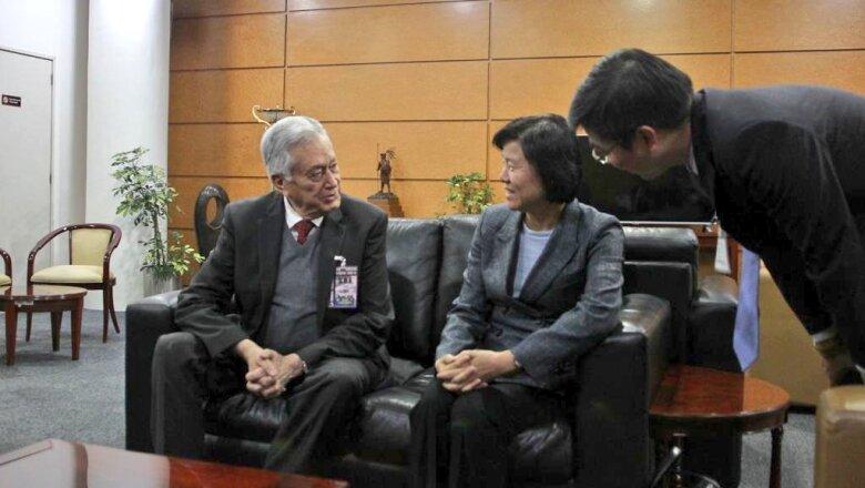 Manuel Brtlett y la vicepresidenta Chen Yueyue