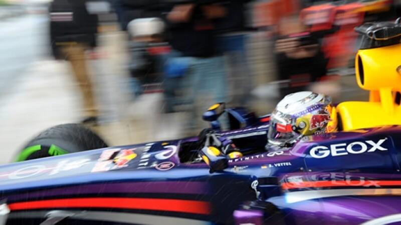 Sebastian Vettel GP practica España