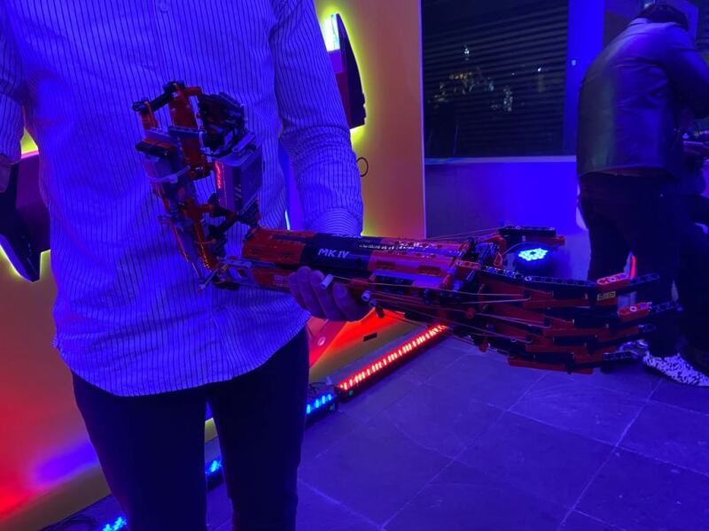 Prótesis con LEGO