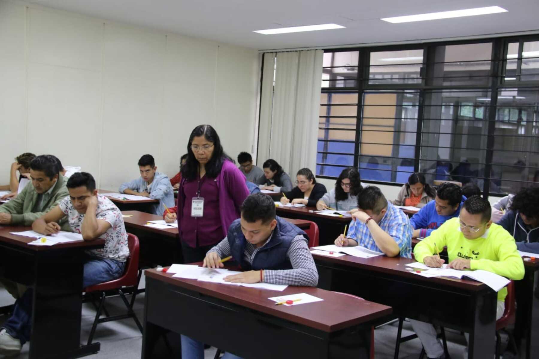 examen de admisión IPN