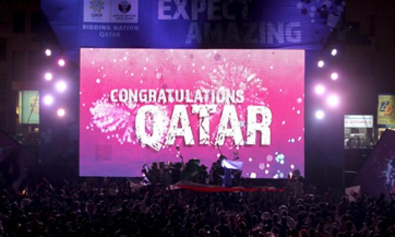 En diciembre de 2010, Qatar consiguió ser la sede del Mundial 2022. (Foto: Reuters)