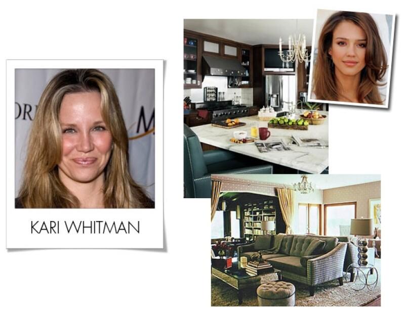 Además de decorar la casa de Jessica Alba, Kari ha trabajado para personalidades como Kristen Bell y Emilio Estevez.