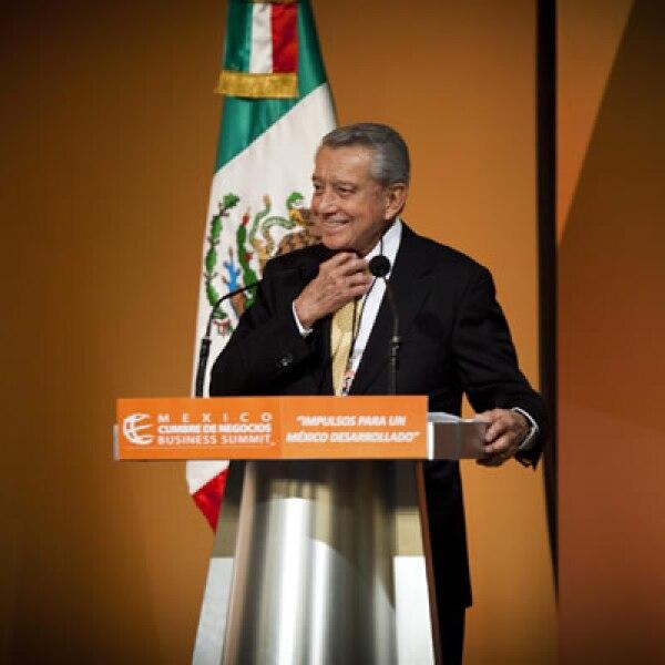 El triunfo electoral de Peña Nieto generó certeza y confianza, dijo el presidente de la México Cumbre de Negocios, Miguel Alemán Velasco
