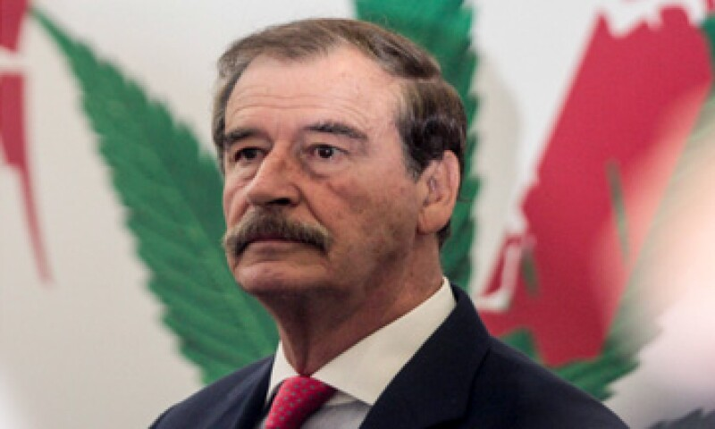 Vicente Fox dijo que viajará a Medio Oriente para buscar más inversionsitas que se interesen en su proyecto. (Foto: Cuartoscuro)