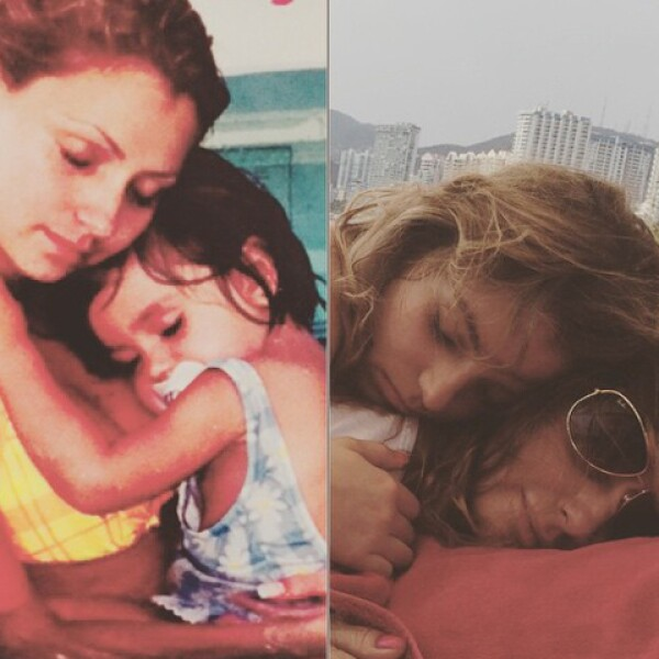 Sofia Castro compartio estas fotos junto a su madre