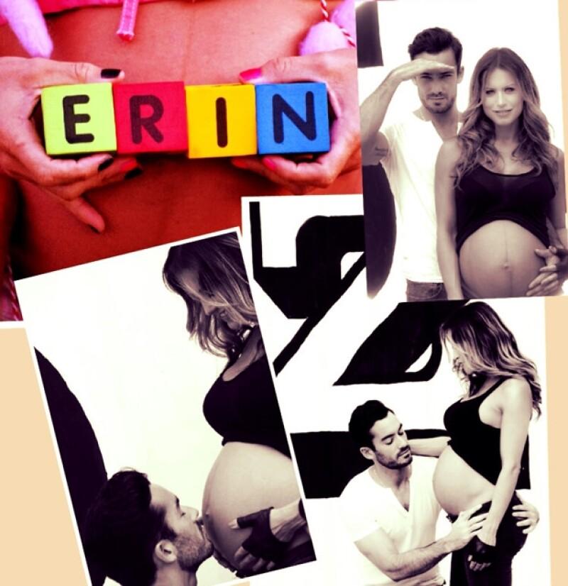 La pequeña nació ayer y durante el día tanto el actor como su esposa comenzaron a compartir sentimientos de alegría y algunas fotos en sus redes sociales.