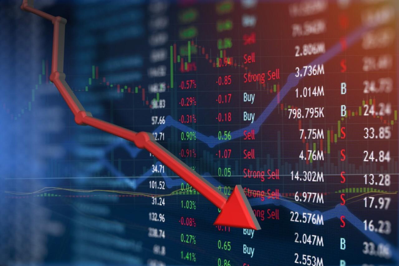 Wall Street cae más de 2%, su peor caída en tres meses