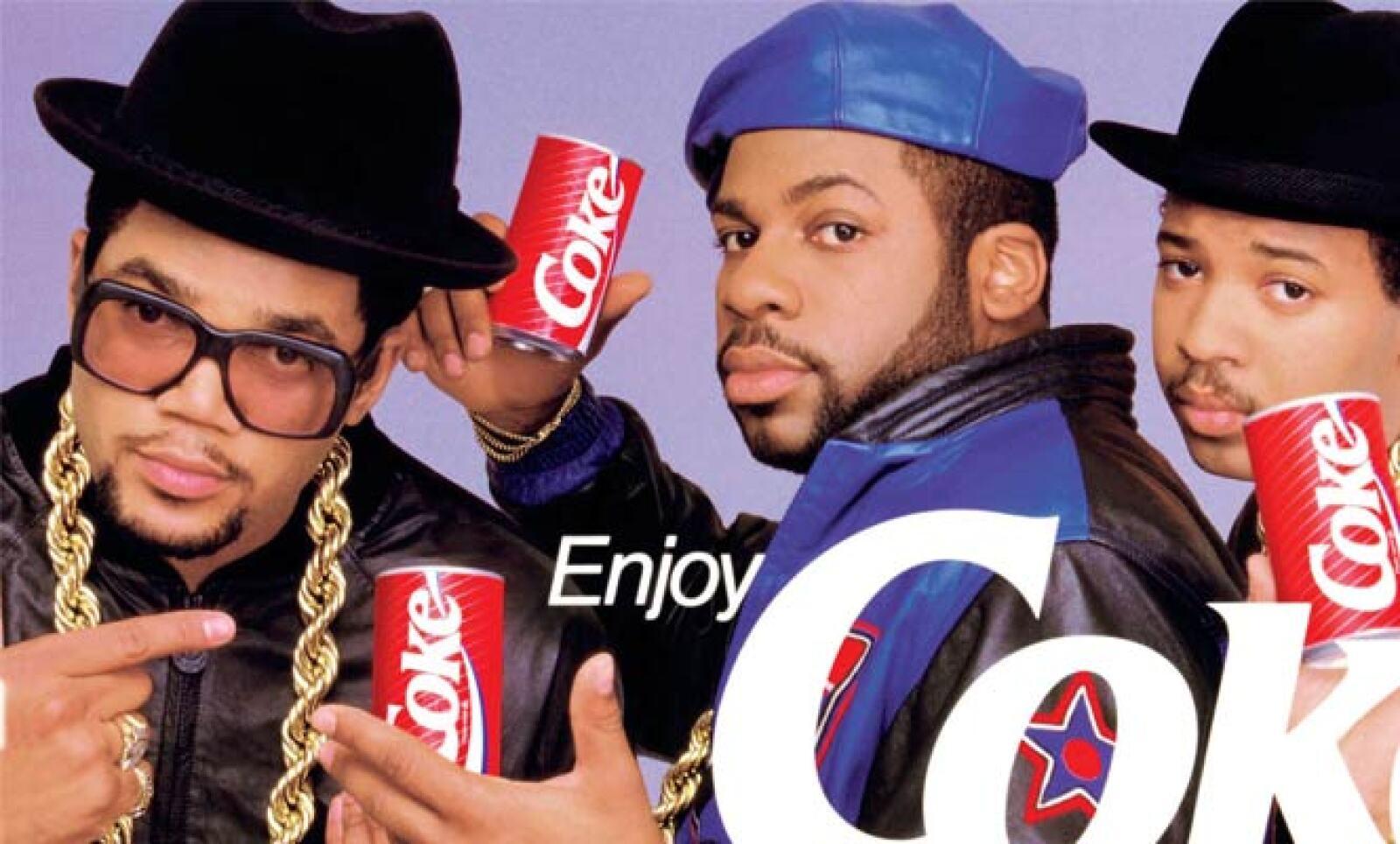 El famoso grupo de rap estadounidense, Run DMC, fue la imagen de la marca en Estados Unidos.