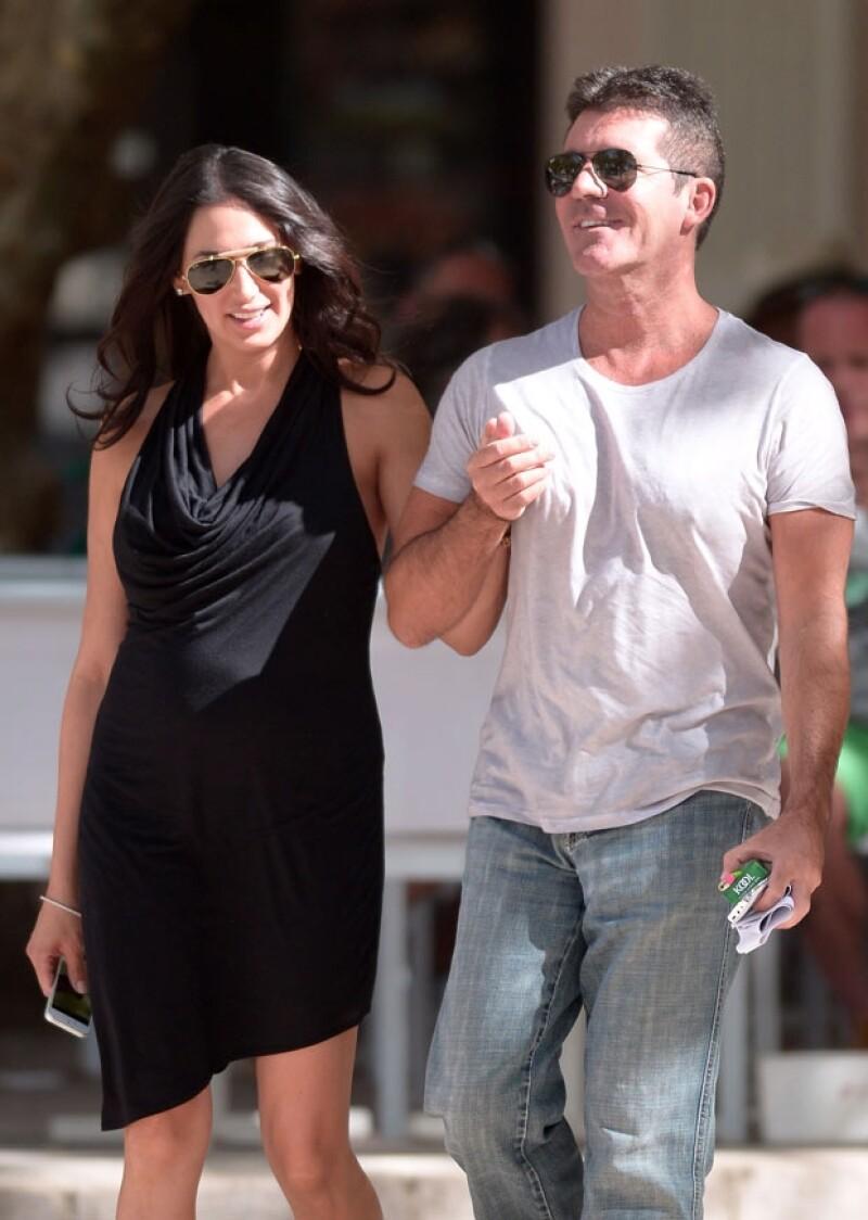 Simon y Lauren juntos en Niza.