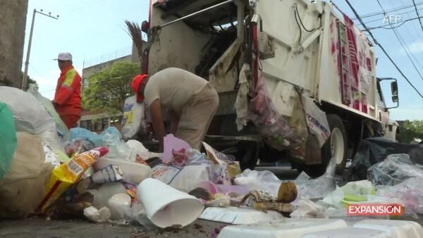 Separacion de basura en la CDMX