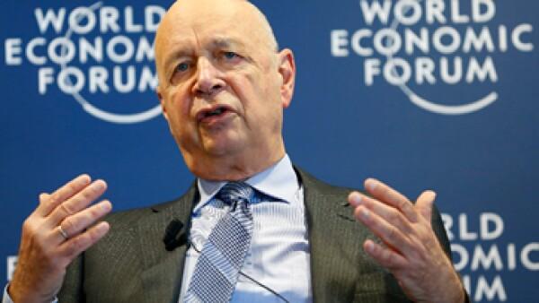 Klaus Schwab inaugurará este miércoles la nueva edición del Foro Económico Mundial en Davos, Suiza. (Archivo)