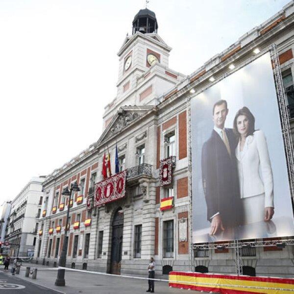 Madrid, lista para recibir al nuevo rey.