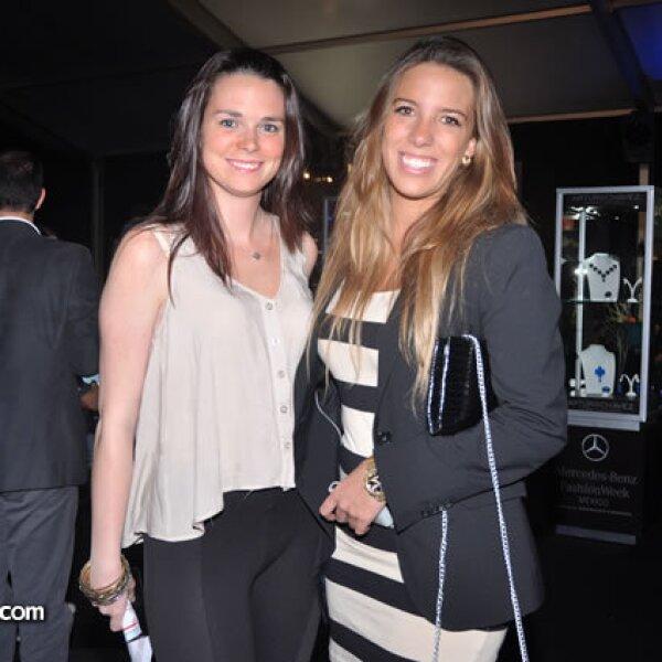 Jimena Czernitc y Daniela Frey