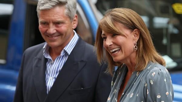 Michael y Carole son los abuelos maternos del Príncipe George.