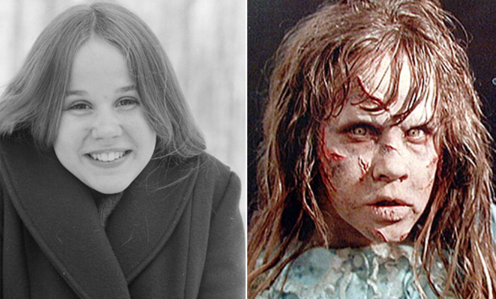 Sólo los genios de la caracterización son capaces de convertir a la inocente Linda Blair en Satanás mismo.