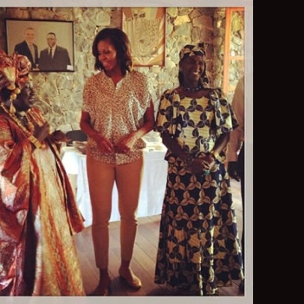visita Michelle Obama Africa junio 2013