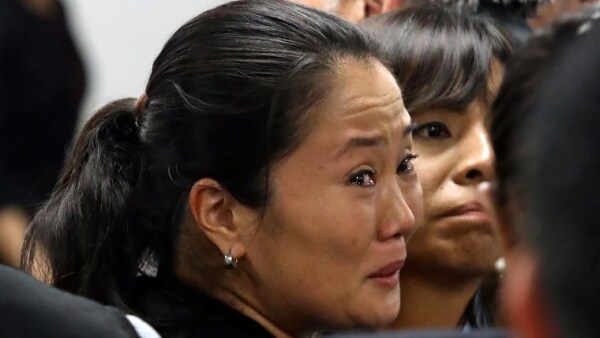 Keiko Fujimori detenida