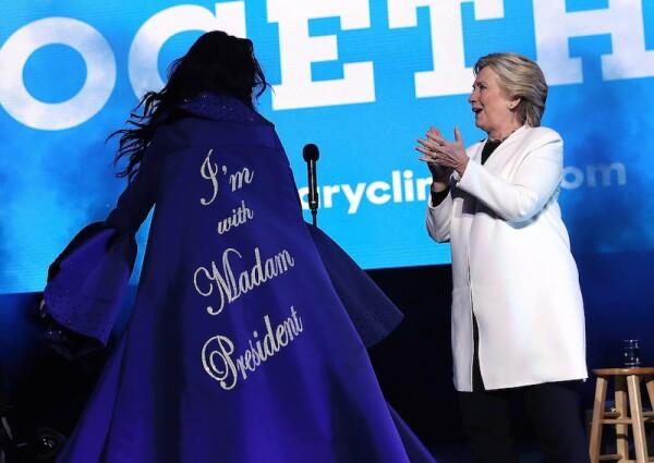 Katy Perry, Hillary Clinton