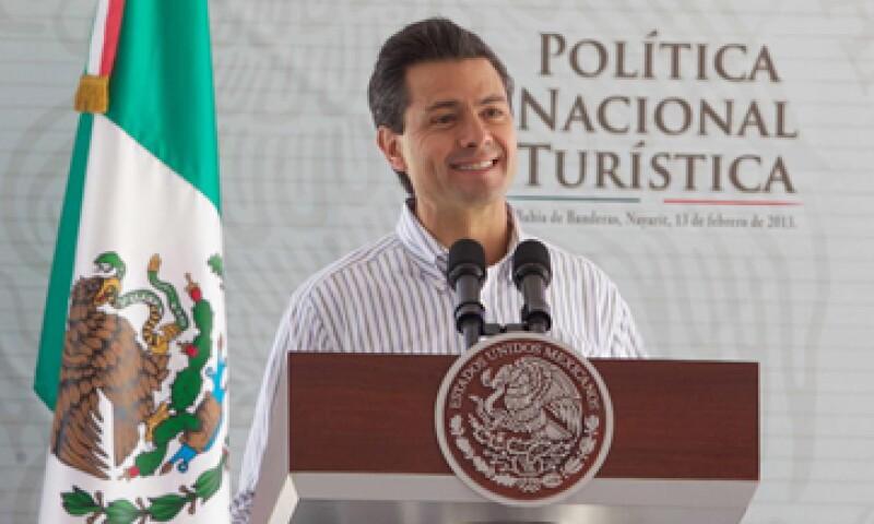 Enrique Peña Nieto dijo que el turismo genera 9% del Producto Interno Bruto mexicano.  (Foto: tomada de presidencia.gob.mx)