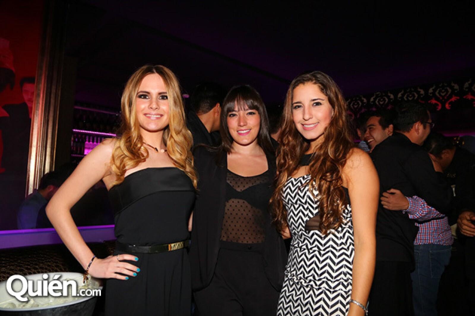 Scarlette Monroy,Camila Anaya y Tania Placencia
