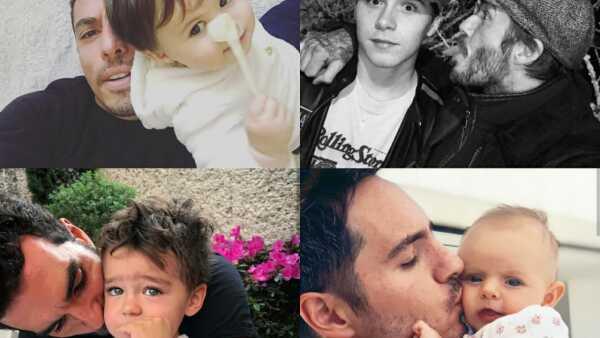 Las 50 fotos más tiernas de los famosos con sus hijos