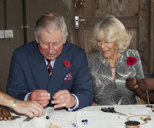 Príncipe Carlos y la duquesa de Cornualles