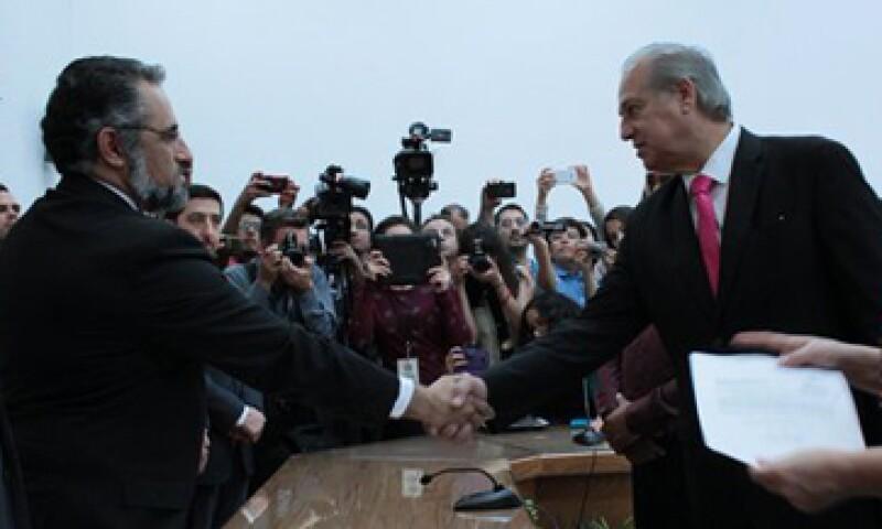 Jaime Beltrán del Río (der) es la apuesta del PRD para ganar las elecciones en Chihuahua. (Foto: IEE Chihuahua/Cortesía)