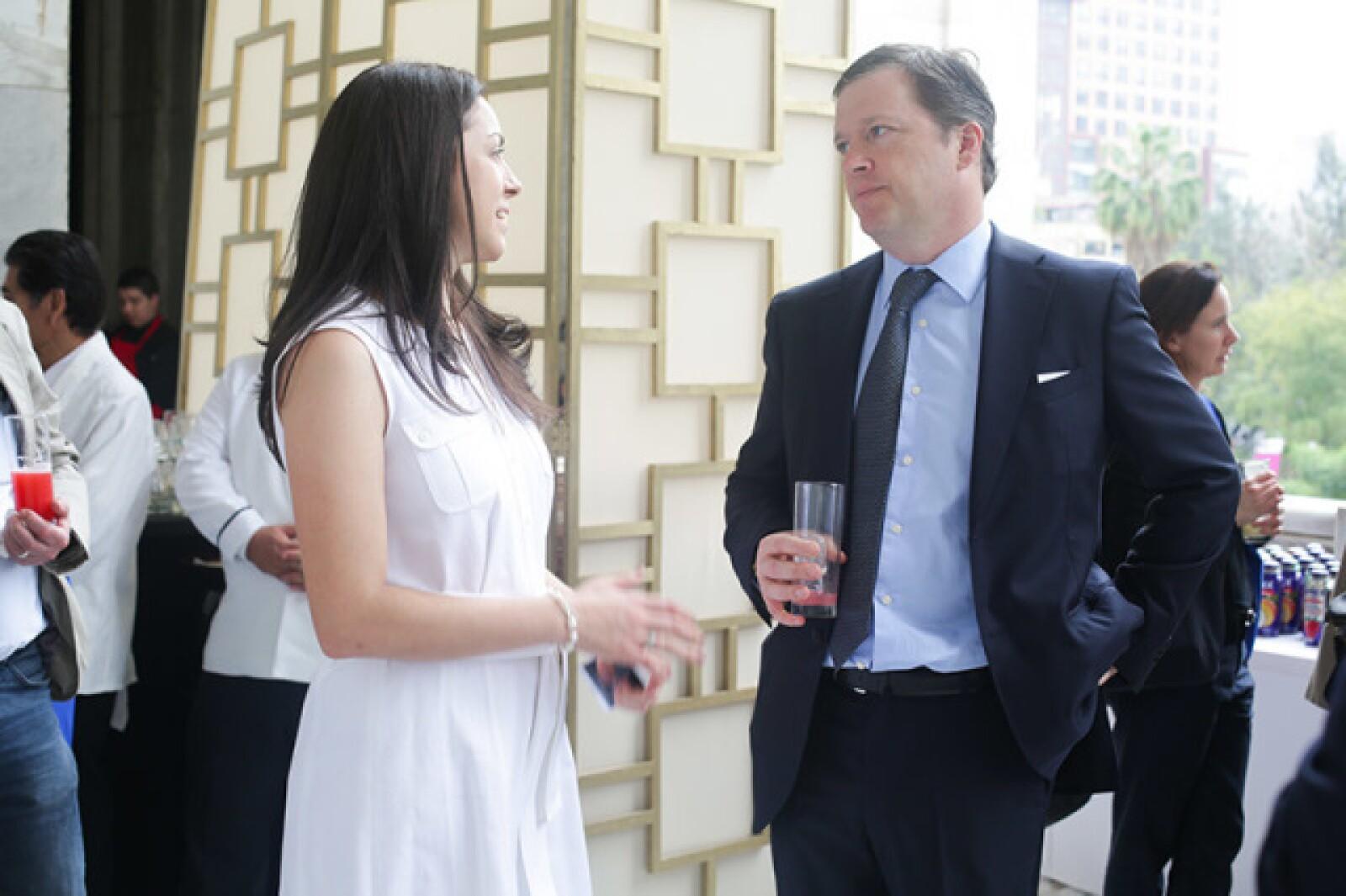 Damian Fraser y Marta Ladrón de Guevara
