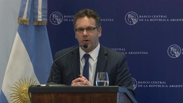 Banco Central de Argentina pide consensos para revertir recesión
