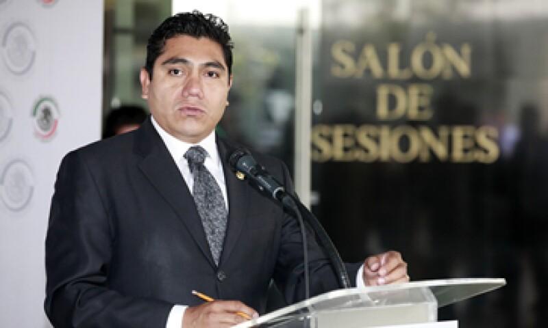 El panista Jorge Luis Preciado dijo que la ruta se seguirá con o sin la presencia de la izquierda. (Foto: Notimex)