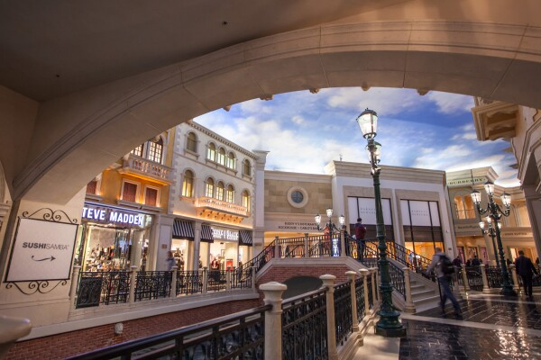 The Grand Canal Shoppes Venetian