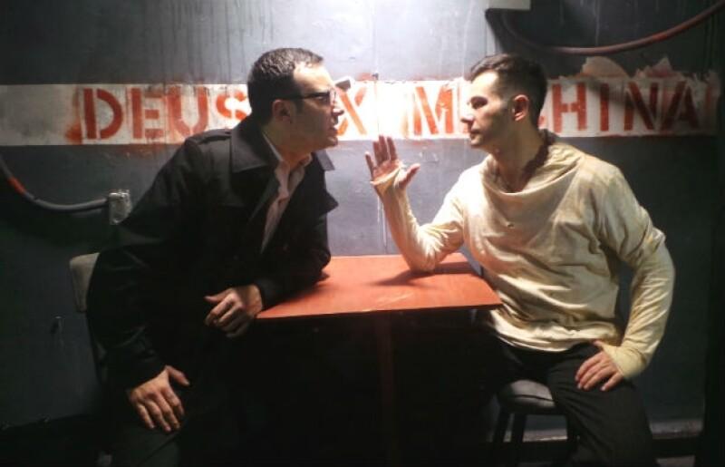 Alejandro de la Madrid y Juan Carlos Martín del Campo en una escena de la puesta.