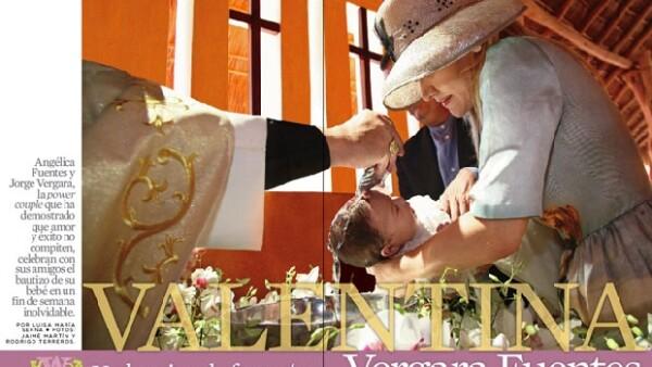 La nueva edición de la revista Quién trae en portada el bautizo de ensueño de Valentina, hija de Jorge Vergara y Angélica Fuentes,la crónica de este evento de tres días los dejará con la boca abierta.