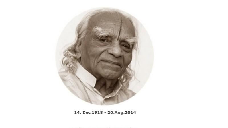 El padre del yoga moderno B.K.S. Iyengar falleció este miércoles en India a los 95 años