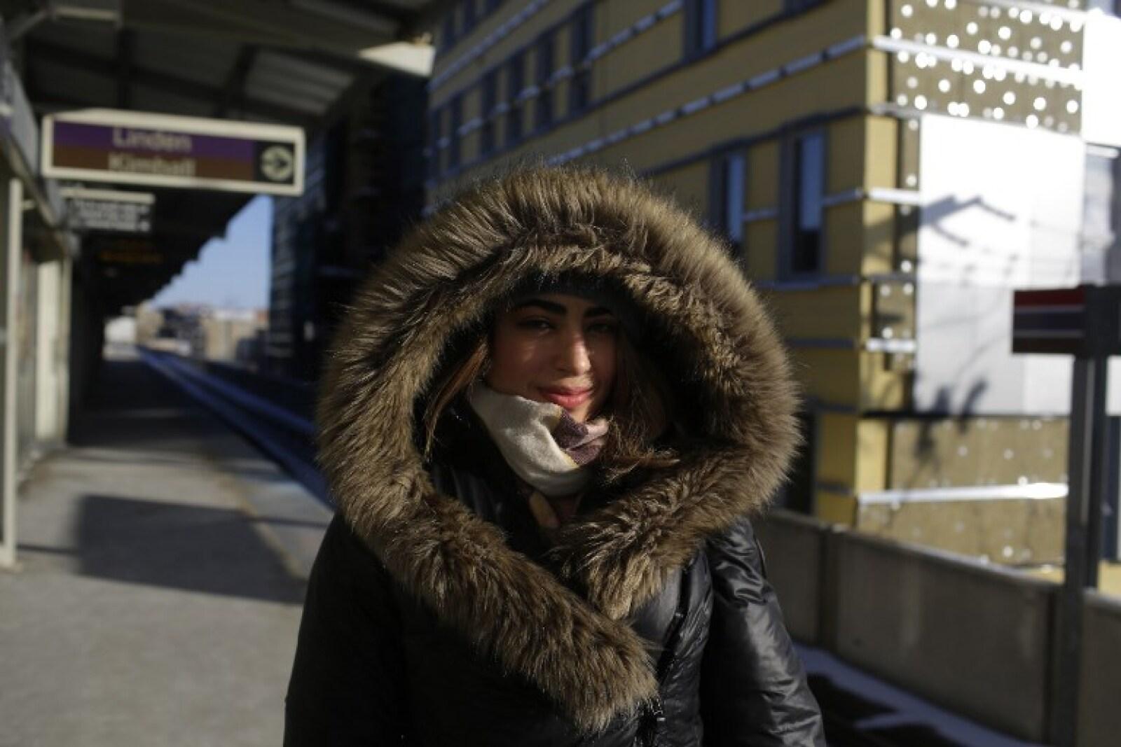 Buen abrigo.