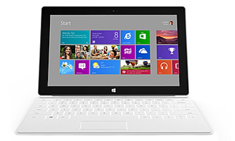 Surface estará disponible con el nuevo sistema operativo de la firma, Windows 8. (Foto: Cortesía Microsoft)