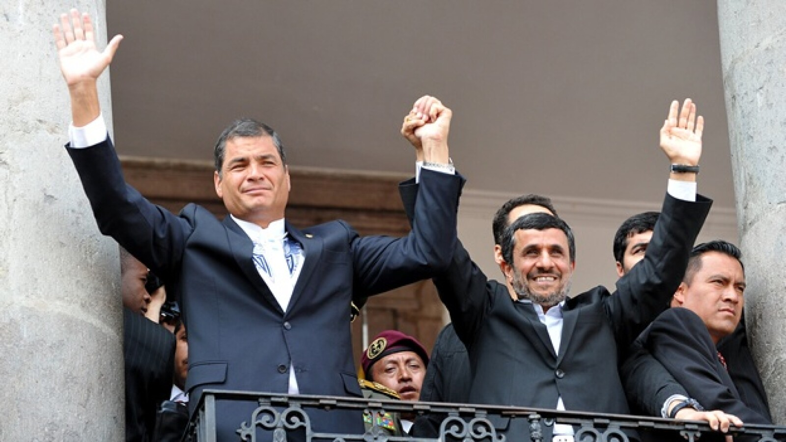 Rafael Correa, Iran