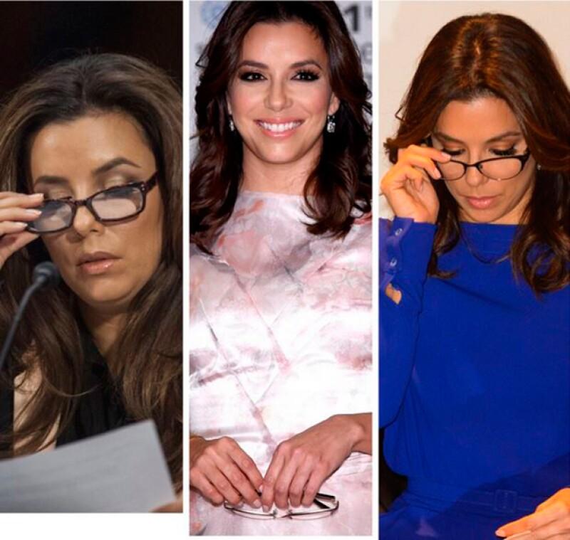 La actriz ha conseguido que algunos medios retiren el artículo que aseguraba que solo lleva lentes como estrategia de marketing y no como necesidad.